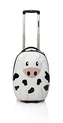 31k7dWLcoZL - Maleta infantil de cabina en forma de Vaca