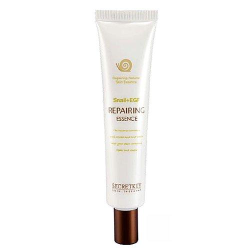 Secret Key - Snail + EGF Repairing Essence - Anti Aging Serum / Essenz mit Schneckenschleim, Caviar, Hamamelis und EGF gegen trockene Haut für Männer und Frauen - Tagespflege - Hautpflege unisex - Gesichtsmasken & Kuren