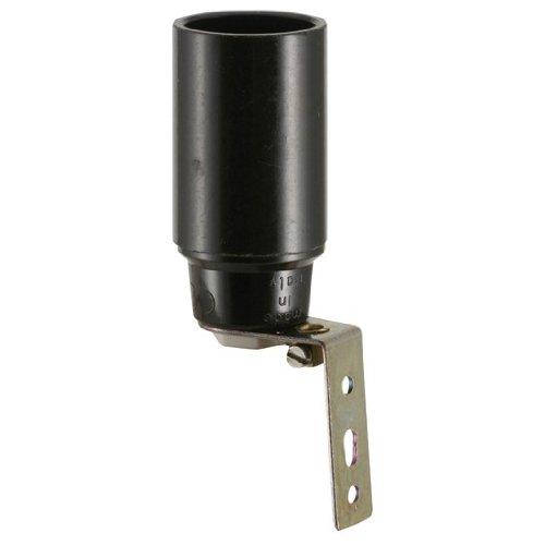 Preisvergleich Produktbild Iso-Fassung E14,  schwarz,  mit