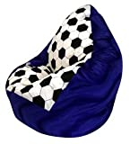 Altmark-Design Sitzsack XL Fussball Nr.V Der Knappe incl. Inlett