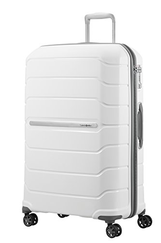 SAMSONITE Flux - Spinner 75/28 Expandable Bagage cabine, 75 cm, 121 liters, Weiß