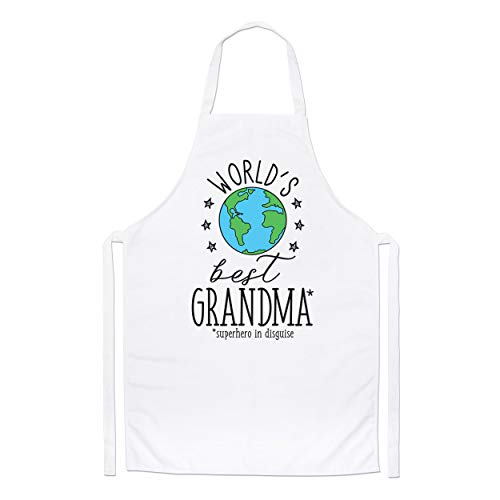World's Mejor Abuela Chefs Delantal