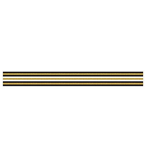 Selbstklebende Bordüre mit tollen Motiven und Ornamenten für Wände, Schränke, Türen | Tapetenbordüre | Wandaufkleber | seidenmatt | ca....