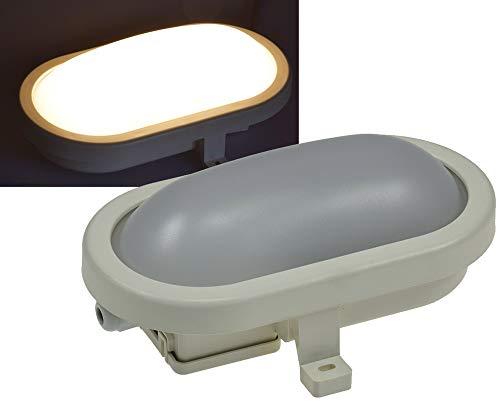 LED Oval-Armatur ''FRL-O 06'' IP44 Feuchtraum-Leuchte, 6W, 480lm, 3000K