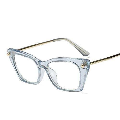 TYJYY Sonnenbrillen New Vintage Frauen Brillen Brillen Metall Hohe Qualität Brillengestell Für...