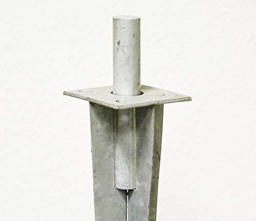 Bodenhülsen Einschlageisen 50 cm Einschlaghilfe Schlageisen Rundeisen Schlagdorn Ø 28 mm