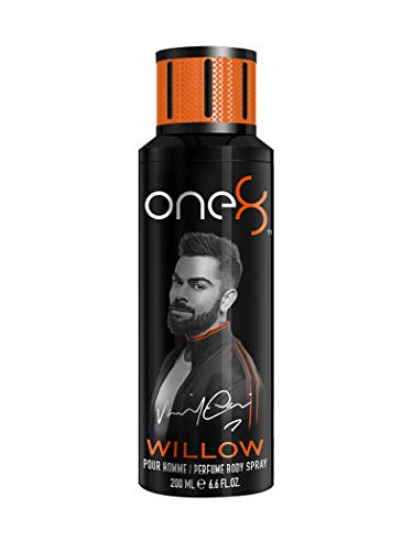 One 8 by Virat Kohli WILLOW Perfume Body Spray For Men, 200 ml