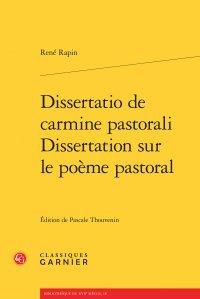 Dissertatio de carmine pastorali - Dissertation sur le poème pastoral