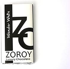 ZOROY LUXURY CHOCOLATE Wonder White large chocolate bar - 200 Gms