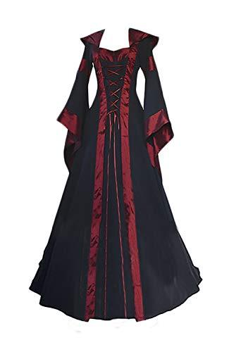 Hexen Kostüm Damen Cosplay Halloween Robe Zauberer Pharao -