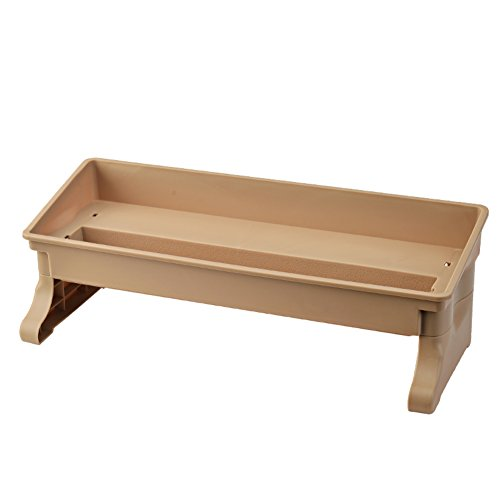 mensola di vanità/Bagno mensola desktop/Storage/ plastica (Antico Brown Parete Specchio)