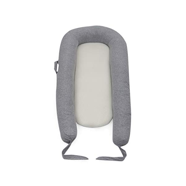 Purflo Breathable Maxi Nest Grey Marl - 6 to 36 Months PurFlo Use from 6 to 36 months as a multifunctional soft surface for quiet, mummy and rest time. Portable and lightweight; perfect for use home and away Hypoallergenic and anti-bacterial properties help reduce exposure to dust mites that aggravate allergies such as Asthma or Eczema. Waterproof inside base, protecting against leaks 2
