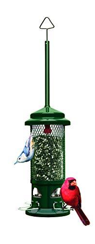 Garten Eichhörnchen Beweis Wild Bird Feeder Hanging Seed Outdoor Wildlife Feeder