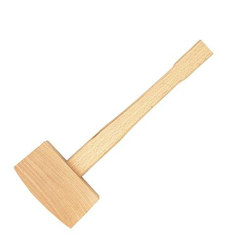 SunniMix 100 130mm Buche Massiv Tischler Holz Holzhammer Hammer Griff Holzbearbeitung - 130 mm