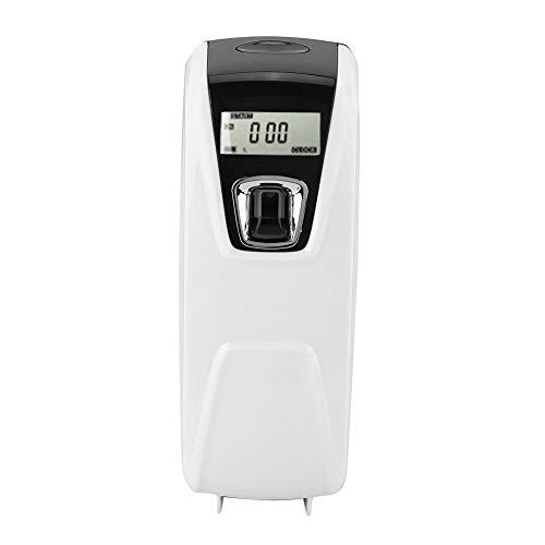 Dispensador de Perfumes, Montado En La Pared Perfumador Automático de Aire Aerosol Fragancia Máquina Pulverizadora con Pantalla LCD para Baño En El Interior del Hotel Sala de Estar