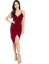 ab2684f3ac Amazon.it: vestito bordeaux: Abbigliamento