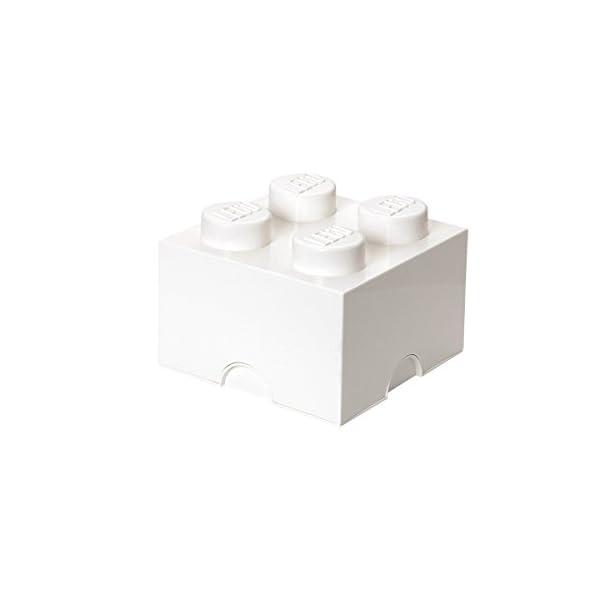 Lego Storage Brick 4 Medium Lt Blu Reale 3 spesavip