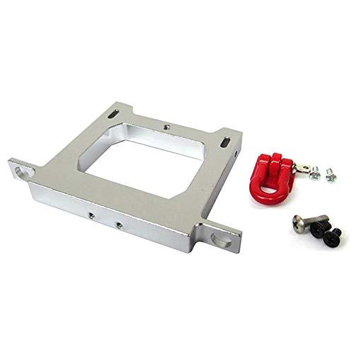 Luerme Châssis en métal Mise à niveau bricolage accessoires modifiés Pare-chocs arrière modèle de poutre intermédiaire jouets adaptés pour télécommande WPL B14, B24, B16