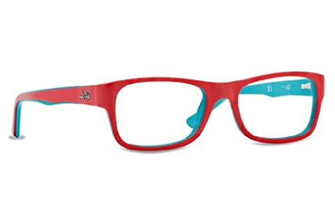 Ray Ban Optical Men's Rx5268 Turquoise On Coral Frame Plastic Eyeglasses, 50mm