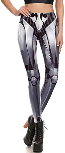 cosplaystudio Alita: Battle Angel Leggings im Cyborg Alita Design, Größe: S