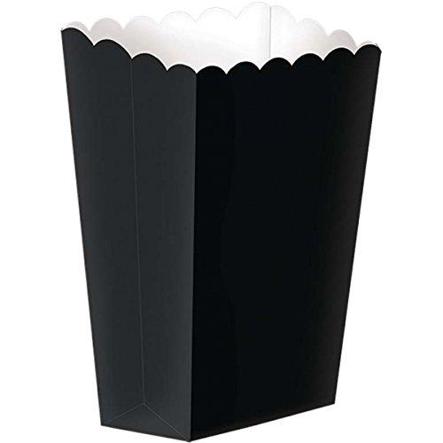 Schwarze Kleine Popcorn Boxen X 5 ()