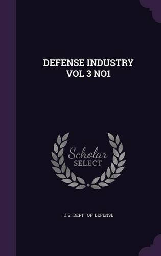 DEFENSE INDUSTRY VOL 3 NO1