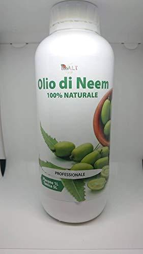 olio di neem 1 lt insetticida repellente bio orto giardino 100% naturale professionale