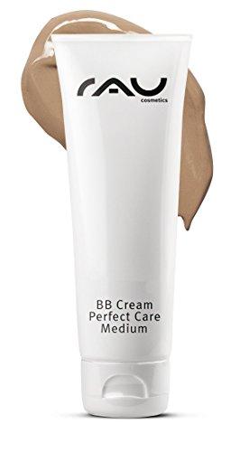 RAU BB Cream Perfect Care Medium 75 ml - Abdeckung + Pflege + UV-Schutz - Getönte Tagescreme mit Zink, Vitamin E
