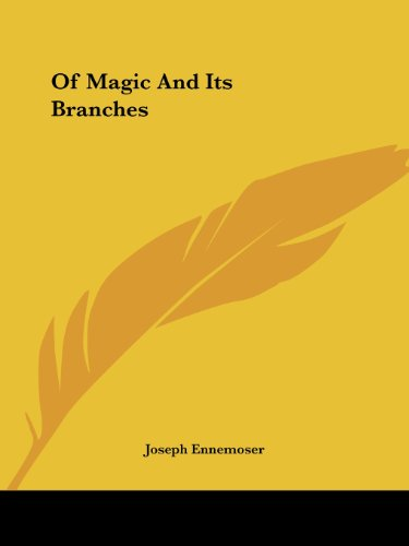 Of Magic and Its Branches Cover Image