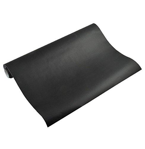 Removable Black Chalkboard Wall Paper/decal School & Home Chalk Blackboard Sticker 200 X 45 Cm Plus 5 Chalks by QuDi
