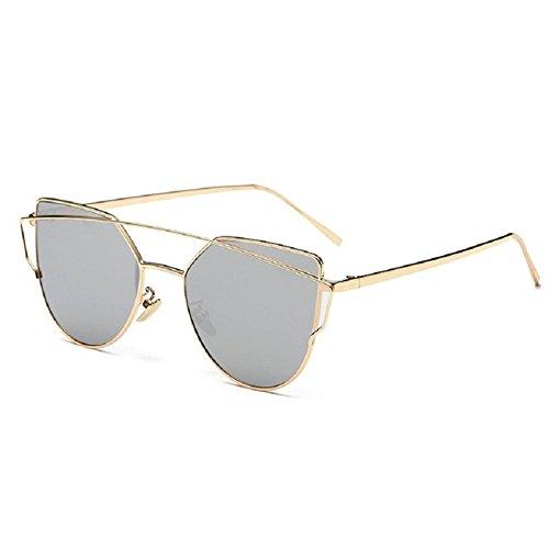 O-C Damen Sonnenbrille Weiß C5