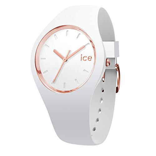 Ice-Watch - Ice Glam White Rose-Gold - Orologio Bianco Da Donna Con...