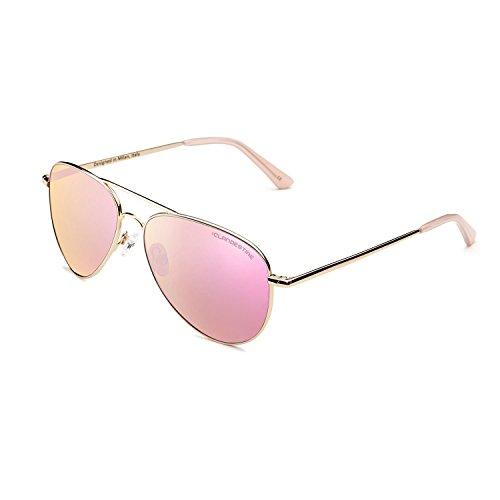 CLANDESTINE Gold Rose N - Damen & Herren Nylon HD Sonnenbrillen