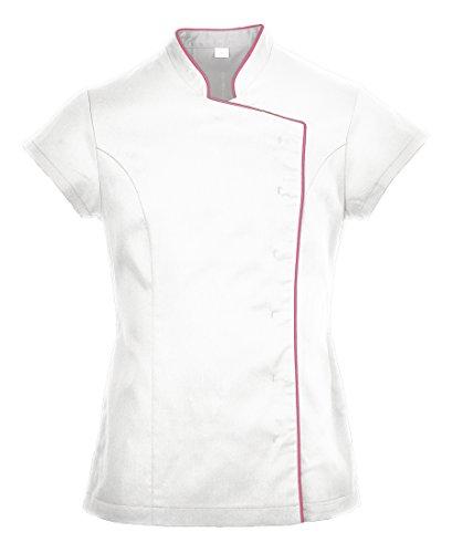 LW15 - Tunika PORTWEST LW15WHRS Tunika Damen kittel weiß S