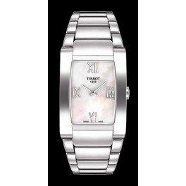 Reloj Tissot GENEROSI-T T007.309.11.113.00al cuarzo (batería) acero quandrante nácar correa acero de Tissot