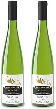 Vin d'Alsace - Pinot gris - 2019 Kammerhof - 2 bouteilles