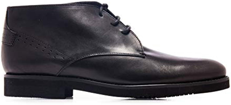 Castellanisimos stivali de Vestir en Piel con Cordones nero Hombre | Di Alta Qualità Ed Economico  | Uomini/Donne Scarpa