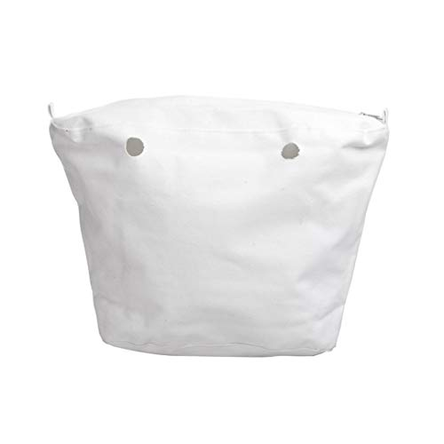 O Bag Sacca Interna Canvas Bianco