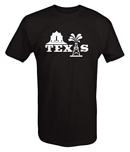 Texas - Not Texas Oilfield Austin Dallas Oil Longhorn Men's T Shirt