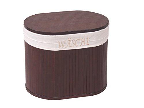 moebel direkt online Sitz-/Wäschetruhe braun gebeizt und lackiert