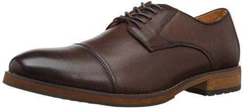 Florsheim Men's Spark Cap Toe Oxford Dress Casual Shoe, Brown, 10 3E US Cap Toe Oxford Cap