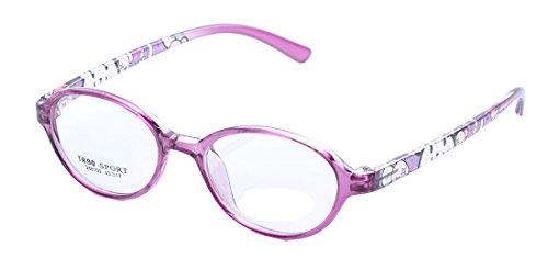 De Ding Jungen Brillenfassung Violett