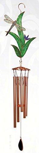 Cadeau Essentials Carillon éolien libellule avec feuilles Grand cadeau par Essentials