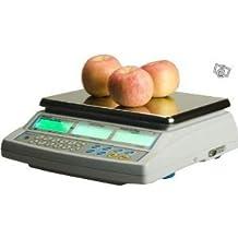 Balance poids-prix sin Ticket 15 kg x 5 G – Báscula para comercio o