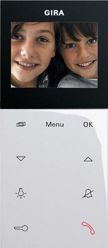Preisvergleich Produktbild Gira 127903 Wohnungsstation Video AP System 55 reinweiß glänzend