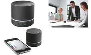 LEITZ mini haut-parleur bluetooth Complete, portable, noir
