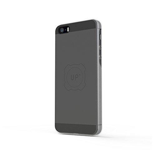 Exelium UPMAI5SEB Apple iPhone 5/5S/5SE Schutzhülle/Cover  mit magnetischer Induktionsladefunktion, schwarz