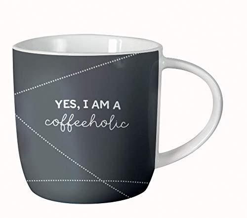 Grafik-Werkstatt 61143 Kaffeetasse fürs Büro| Porzellan verschenken | coffeeholic Tasse, -