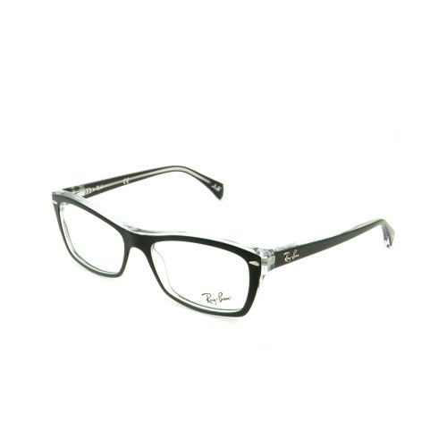 New Original RAY BAN Eyeglasses RX RB 5255 RB5255 2034 Black Women Men 53mm