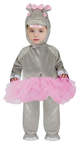 Kostüm Kleinkind Nilpferd - Baby Kleinkind Mädchen Tutu Nilpferd Tier Halloween Kostüm Kleid Outfit 12-24 Monate
